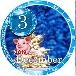 Daily Horoscope December 3, 2019 for 12 Zodica signs