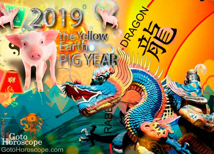 Dragon 2019 Horoscope for the Yellow Earth Pig Year