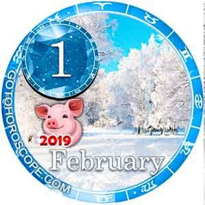 Daily Horoscope for February 1, 2019