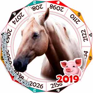 Oriental 2019 Horoscope for Horse
