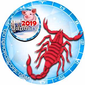 free scorpio horoscope january