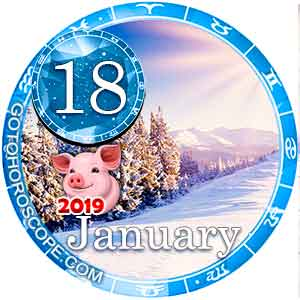 Daily Horoscope for January 18, 2019