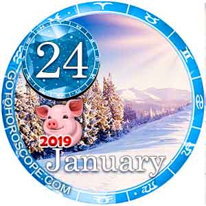 Daily Horoscope January 24, 2019 for 12 Zodica signs