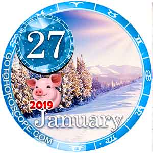 Daily Horoscope for January 27, 2019