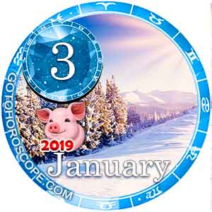 Daily Horoscope January 3, 2019 for 12 Zodica signs