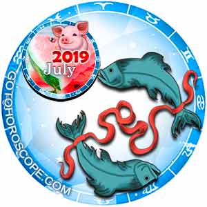 July 2019 Horoscope Pisces, free Monthly Horoscope for July