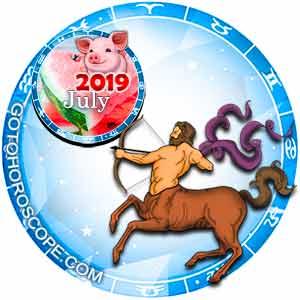 July 2019 Horoscope Sagittarius, free Monthly Horoscope for