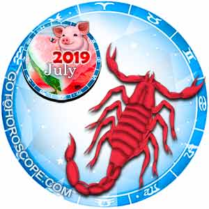 July 2019 Horoscope Scorpio, free Monthly Horoscope for July 2019