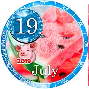 Today Horoscope July 19