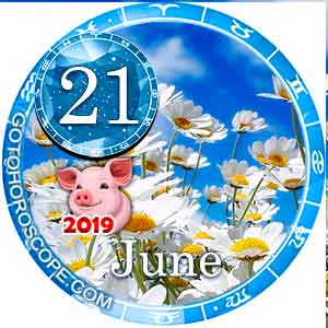 Daily Horoscope for June 21, 2019