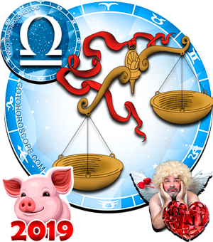 2019 Love Horoscope Libra for the Pig Year