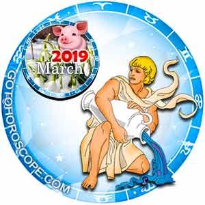 March 2019 Horoscope Aquarius