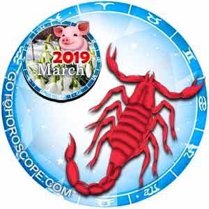 Scorpio Horoscope for March 2019