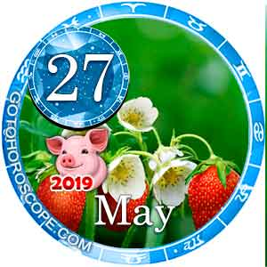 Daily Horoscope for May 27, 2019