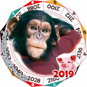 Oriental 2019 Horoscope for Monkey