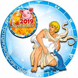 November 2019 Horoscope Aquarius