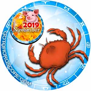 Cancer Horoscope for November 2019