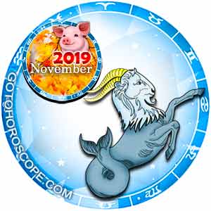 November 2019 Horoscope Capricorn