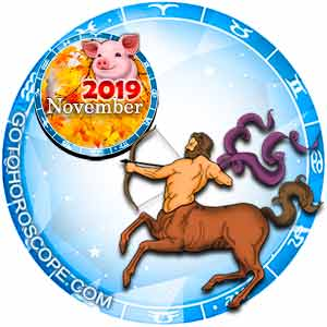 Sagittarius Horoscope for November 2019