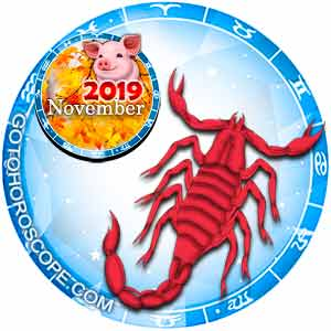 November 2019 Horoscope Scorpio