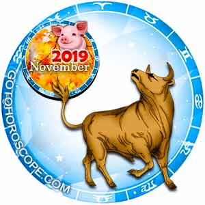 Taurus Horoscope for November 2019