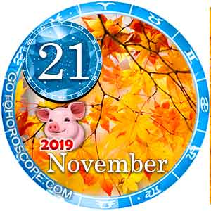 Daily Horoscope for November 21, 2019