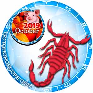 October 2019 Horoscope Scorpio
