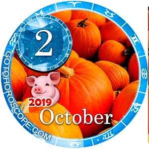 Daily Horoscope for October 2, 2019