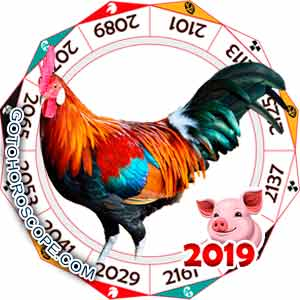 Oriental 2019 Horoscope for Rooster