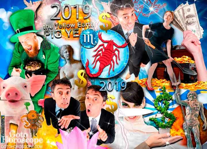 Scorpio 2019 Horoscope in the Money Sphere