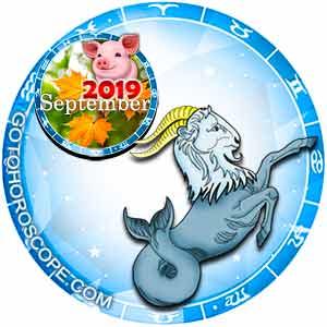 September 2019 Horoscope Capricorn