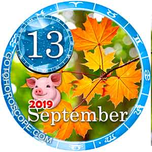 Daily Horoscope September 13, 2019 for 12 Zodica signs