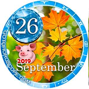 Daily Horoscope for September 26, 2019