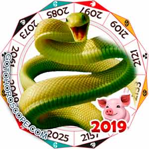 Oriental 2019 Horoscope for Snake