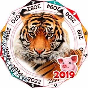 Oriental 2019 Horoscope for Tiger