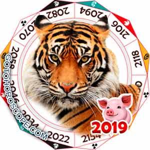 2019 Horoscope for Tiger Zodiac Sign
