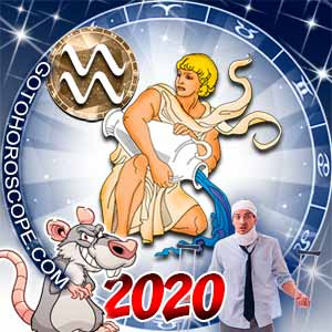 2020 Health Horoscope for Aquarius Zodiac Sign