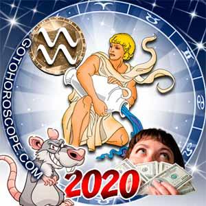 2020 Money Horoscope for Aquarius Zodiac Sign