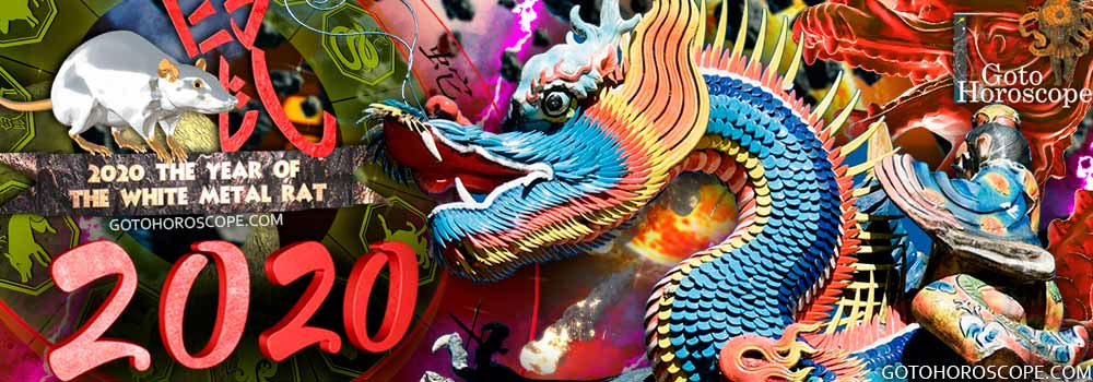 Dragon 2020 Horoscope for the White Metal Rat Year
