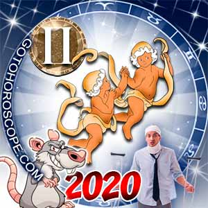 2020 Health Horoscope for Gemini Zodiac Sign