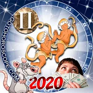 2020 Money Horoscope for Gemini Zodiac Sign