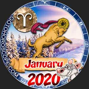 January 2020 Horoscope Aries