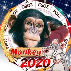 2020 Horoscope for Monkey Zodiac Sign