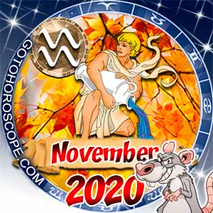 November 2020 Horoscope Aquarius