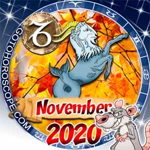 November 2020 Horoscope Capricorn