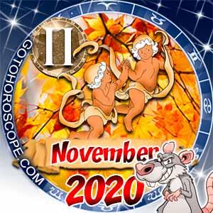 November 2020 Horoscope Gemini