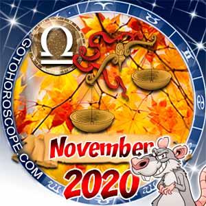 November 2020 Horoscope Libra