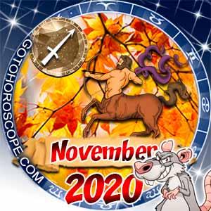 Sagittarius Horoscope for November 2020
