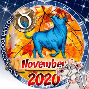 November 2020 Horoscope Taurus