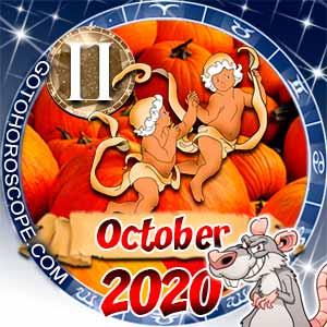 October 2020 Horoscope Gemini